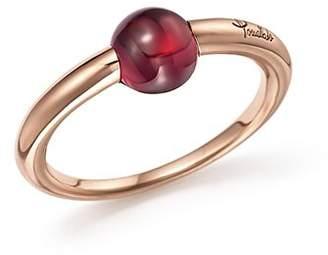 Pomellato M'Ama Non M'Ama Ring with Rhodolite Garnet in 18K Rose Gold