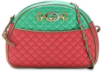 Gucci Medium Two Tone Quilted Leather Bag