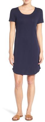 Splendid Stripe Knit T-Shirt Dress $118 thestylecure.com