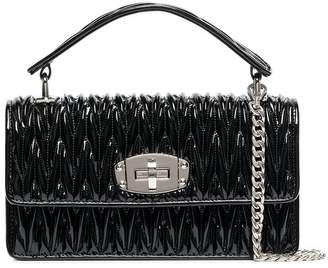 Miu Miu leather quilted shoulder bag