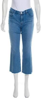 J Brand Mid-Rise Capri Jean