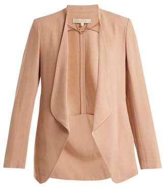 Vanessa Bruno Anastasia draped-front crepe jacket