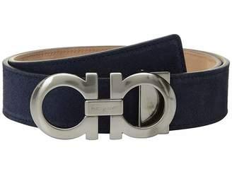 Salvatore Ferragamo Adjustable Dress Double Gancini Belt