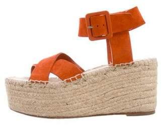 Celine Ankle Strap Espadrille Wedges