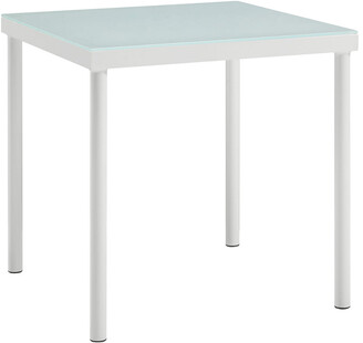 Modway Outdoor Harmony Outdoor Patio Aluminum Side Table