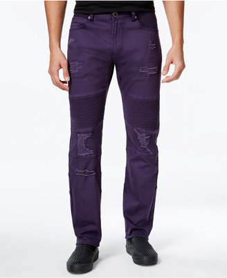 Lrg Men's Payola Tapered-Fit Pintucked Jeans $79 thestylecure.com