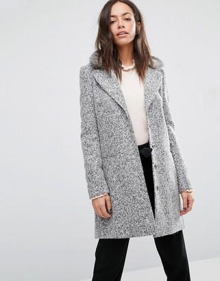 Oasis Boucle coat $143 thestylecure.com