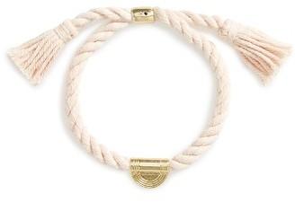 Women's Madewell Cord Tassel Bracelet $18 thestylecure.com