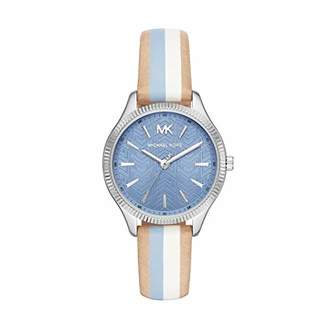 e533abbb3a92 Michael Kors Womens Analogue Quartz Watch with Leather Strap MK2807