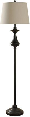 Stylecraft Style Craft 62In Traditional Bronze Metal Floor Lamp