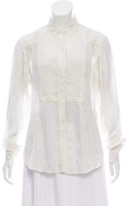 Stella McCartney Silk Sheer Blouse
