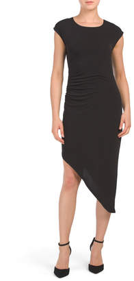 BCBGeneration Asymmetrical Hem Bodycon Dress