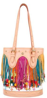 Louis Vuitton Multicolore Fringe Bucket Bag