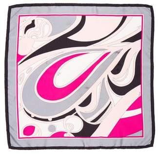 Emilio Pucci Silk Printed Scarf