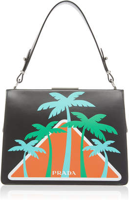 City Calf Top Handle with Palm Trees