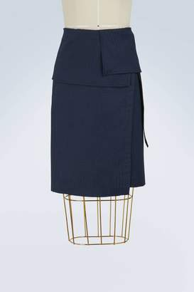 Vanessa Bruno Isalys cotton wrap skirt