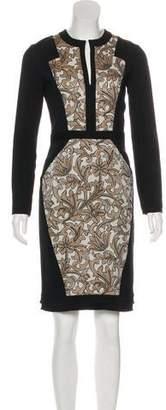Etro Jacquard Knee-Length Dress w/ Tags
