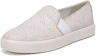 Vince Blair Cracked Leather Platform Sneakers