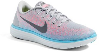 Women's Nike 'Free Rn Distance' Running Shoe $120 thestylecure.com