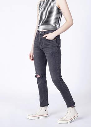 Levi's Levis 501 Vintage Black Skinny Jean | WIldfang - 501 Skinny Jean - BLACK - 27