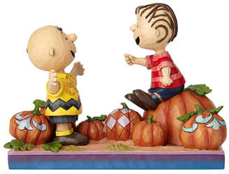 Pumpkin Patch Enesco Jim Shore Harvest Charlie Brown and Linus