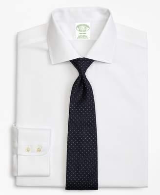 Brooks Brothers Milano Slim-Fit Dress Shirt, Non-Iron Rope Stripe