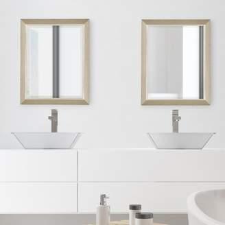 Winston Porter Perlman Large Framed Rectangle Accent Mirror