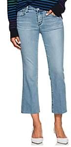 J Brand Women's Selena Mid-Rise Crop Jeans - Lt. Blue