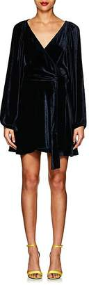 A.L.C. Women's Velvet Wrap Dress