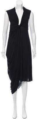 Givenchy Drape-Accented Maxi Dress