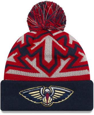 New Era New Orleans Pelicans Glowflake Cuff Knit Hat