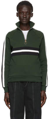 Harmony Green Sidonie Zip-Up Sweater