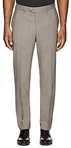 Hiltl Men's Stretch-Wool Flat-Front Trousers-Beige, Tan Size 30