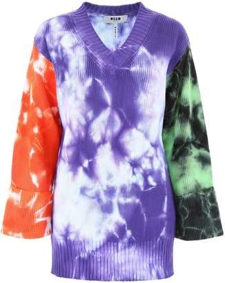 MSGM Tie-dye Pullover