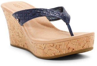 UGG Australia Natassia Wedge Sandal $85 thestylecure.com