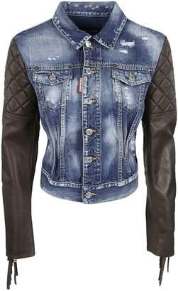 DSQUARED2 Fringed Sleeved Jacket