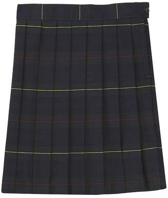 French Toast Plaid Woven Pleated Skirt Girls