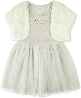 NANETTE BABY Nanette Baby Jacket Dress Toddler Girls $45 thestylecure.com