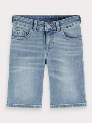 Scotch & Soda Strummer Shorts - Cool Pool Skinny fit