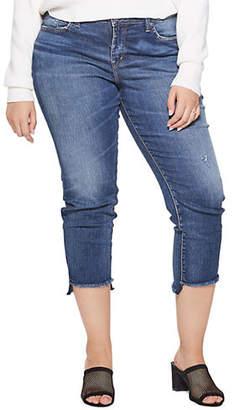 Silver Jeans Avery Skinny-Crop Jeans