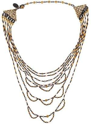 Erickson Beamon Crystal Multistrand Necklace