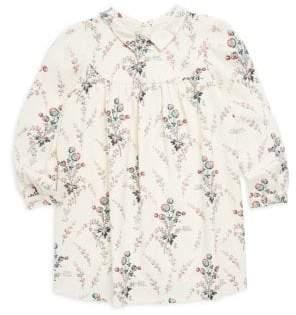 Bonpoint Little Girl's & Girl's Floral Shirt Dress