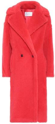 Max Mara Teddy Bear Icon alpaca-blend coat