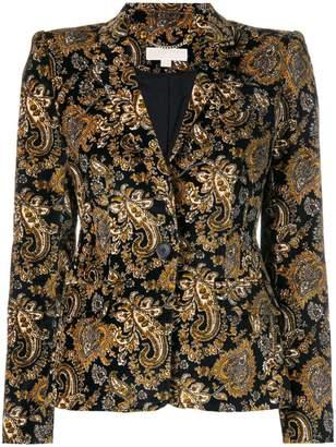 MICHAEL Michael Kors fitted paisley blazer
