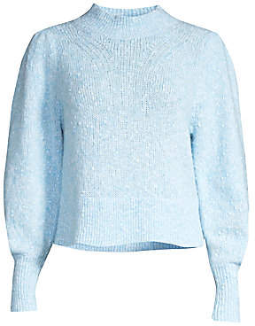 Rebecca Taylor Women's Optic Tweed Sweater