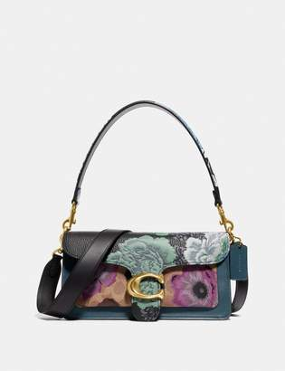Coach Tabby Shoulder Bag 26 In Signature Canvas With Kaffe Fassett Print