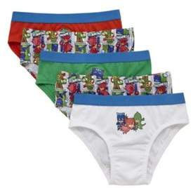 Character Pj Masks 5 Pack Of Briefs 4-5 years