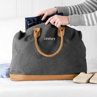 721cb210f484 Cathy s Concepts CATHYS CONCEPTS Personalized Washed Canvas Duffel Bag