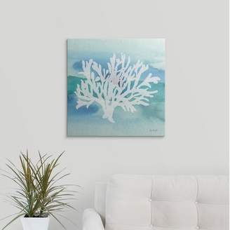 Great Big Canvas 'Sea Life Coral II' by Lisa Audit Painting Print