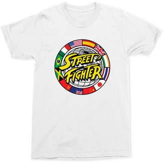 Street Fighter Logo Men Graphic T-Shirt
